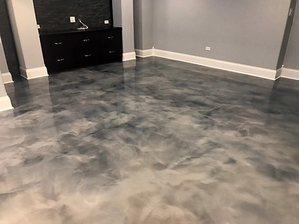 Windy City Coating Chicago Metallic Color Epoxy Flooring