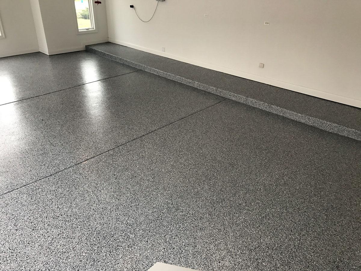 Windy City Coating Flake Epoxy Flooring