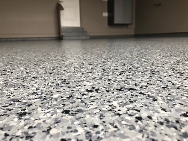 Windy City Coating Flake Epoxy Flooring
