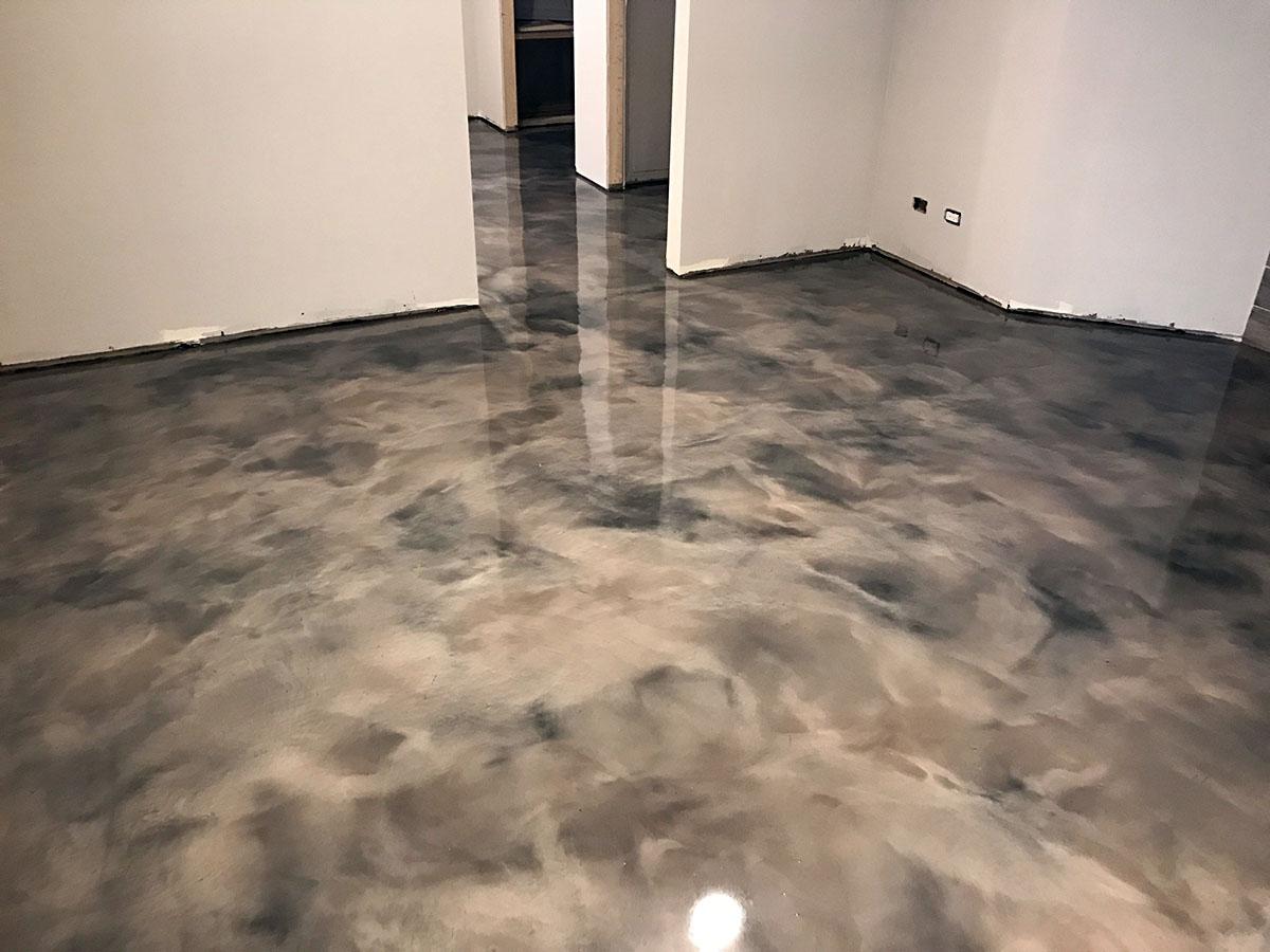Windy City Coating Metallic Epoxy Flooring