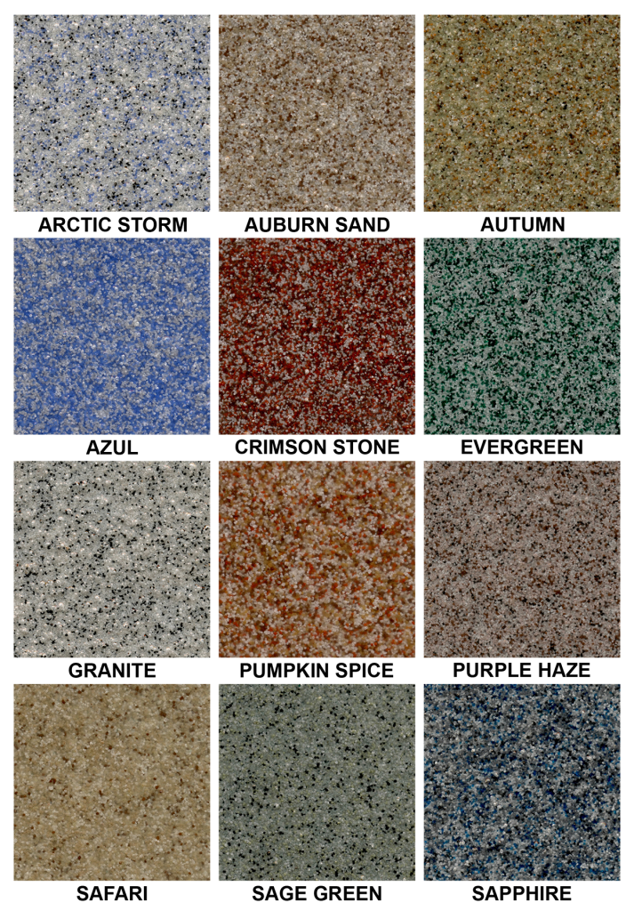 Windy City Coating Quartz Epoxy Color Chart Windy City