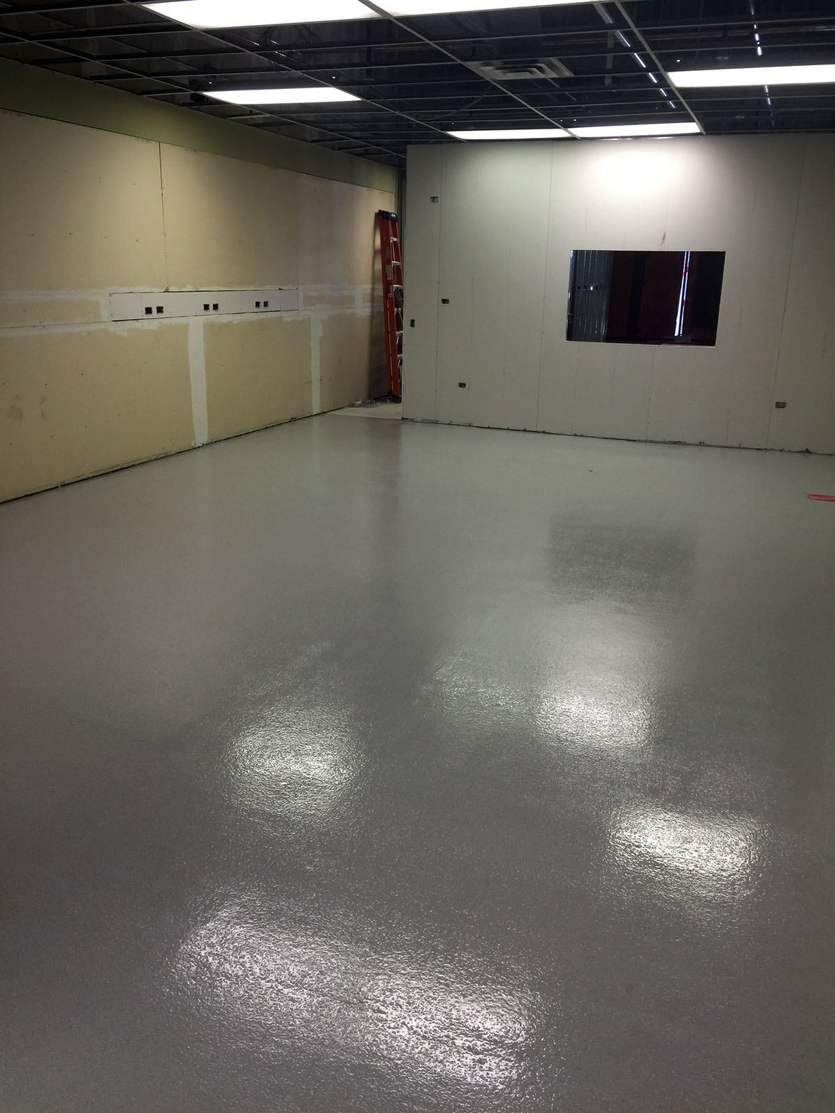 Windy City Coating Solid Color Epoxy Flooring