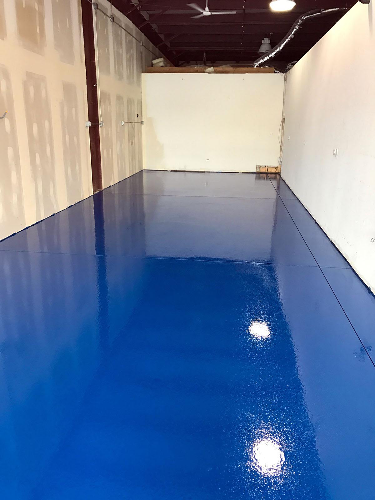 Windy City Coating Solid Color Epoxy Flooring