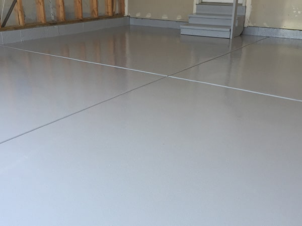 Solid Color Epoxy Flooring